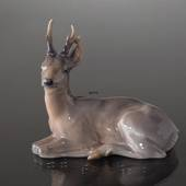Deer lying down, Royal Copenhagen figurine