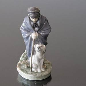 Shepherd boy with Dog, friendship, Royal Copenhagen figurine No. 782 | No. R782 | DPH Trading