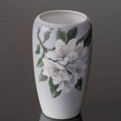 Vase with white flower, Royal Copenhagen