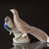 Two Pheasants, Royal Copenhagen figurine No. 862