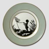 Royal Copenhagen Silhouette plate with Thumbelina