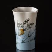 Vase with Flowers and branches, Bing & Grondahl No. 967-3872