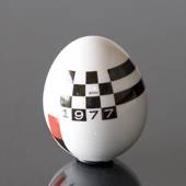 Annual egg, 1977, Royal Copenhagen