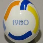 Annual egg, 1980, Royal Copenhagen