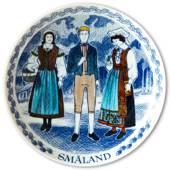 Swedish Folk Costumes No. 4 Småland
