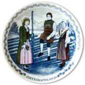 Swedish Folk Costumes No. 7 Östergötland