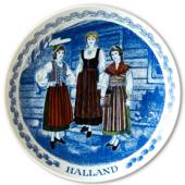 Swedish Folk Costumes No. 8 Halland