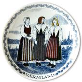 Swedish Folk Costumes No. 9 Värmland