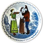 Swedish Folk Costumes No. 12 Norrbotten