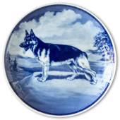 Ravn dog plate no. 16, German Shepherd