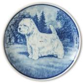 Ravn dog plate no. 28, West Highland White Terrier