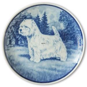 Ravn dog plate no. 28, West Highland White Terrier | No. RAH028 | DPH Trading