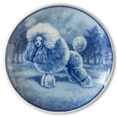 Ravn dog plate no. 38, Miniature Poodle