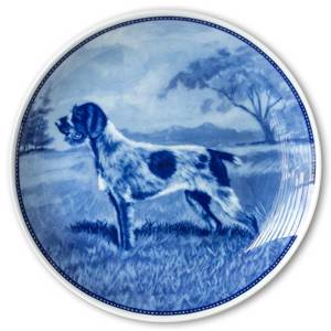 Ravn dog plate no. 48, German Wirehaired Pointer