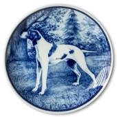 Ravn dog plate no. 81, Pointer