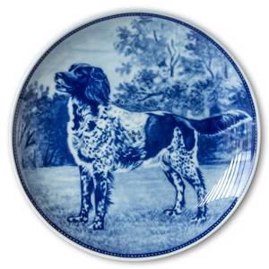 Ravn dog plate no. 84, Small Münsterländer
