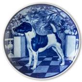 Ravn dog plate no. 86, Smooth Fox Terrier