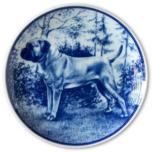 Ravn dog plate no. 90, Bullmastiff