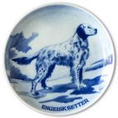 Ravn Utility dog plate no. 6, English Setter