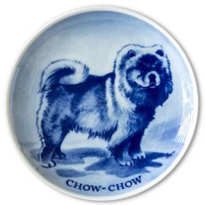 Ravn Utility dog plate no. 12, Chow Chow