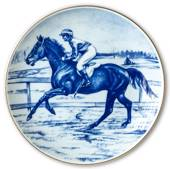 Ravn horse sports plate no. 5, Flat Racing - Ylva Loven Sward riding Tammer...