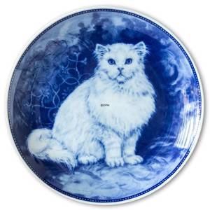 Ravn cat plate no. 2, Persian cat