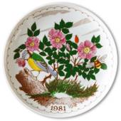 1981 Ravn Mother's day plate