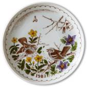1987 Ravn Mother's day plate