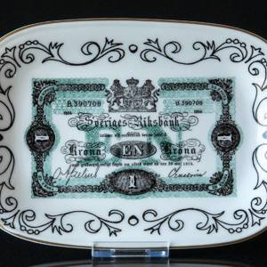 Ravn Swedish Banknotes Plate No. 1 One Krone 1914-1921 Called Kotia | No. RAS01 | DPH Trading