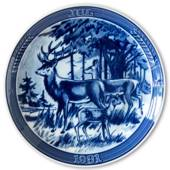 "1981 Ravn Christmas plate in the series ""Swedish Christmas"", Stag"