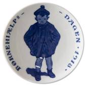 1918 Royal Copenhagen, Child Welfare Day plate