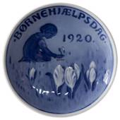 1920 Royal Copenhagen, Child Welfare Day plate