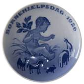 1926 Royal Copenhagen, Child Welfare Day plate
