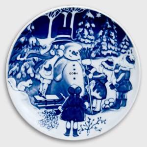 1999 Royal Copenhagen The Childrens Christmas plate | Year 1999 | No. RBX1999 | Alt. 1903499 | DPH Trading