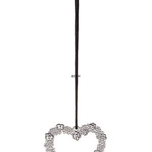 Karen Blixen Christmas, Flower Heart, silver-plated