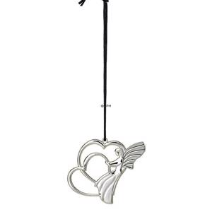 Karen Blixen Christmas, Angel Heart, silver-plated | Year 2018 | No. RD31493 | DPH Trading