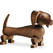 Kay Bojesen Dog, walnut