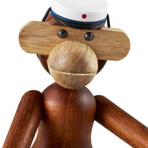 Students Cap To Small Kay Bojesen Monkey Blue