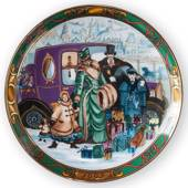 1992 Christmas in Denmark plate, Royal Copenhagen