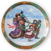 1993 Christmas in Denmark plate, Royal Copenhagen