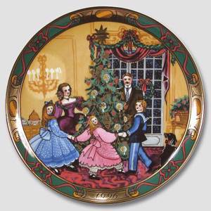 1996 Christmas in Denmark plate, Royal Copenhagen