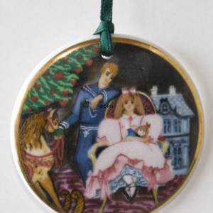 1995 Christmas in Denmark Ornament, Royal Copenhagen