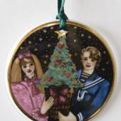 1996 Christmas in Denmark Ornament, Royal Copenhagen