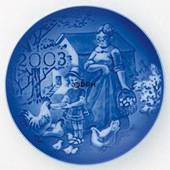 2003 Royal Copenhagen Grandparent's plate