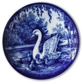 1978 Royal Heidelberg Mother's Day plate, Swan with Swanlings