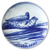 1990 Royal Heidelberg Christmas plate, Seal