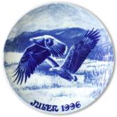 1996 Royal Heidelberg Christmas plate, Eagle