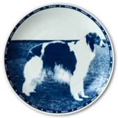 Riges dog plate Borzoi
