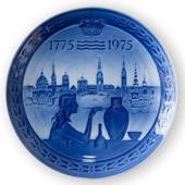 1775-1975 Royal Copenhagen Jubilee plate, Celebrating Royal Copenhagen´s 20...
