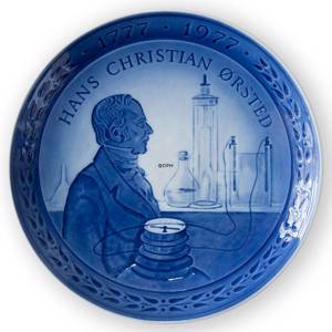 1777-1977 Jubilee plate Royal Copenhagen, the Bicentennial of the birth of ...